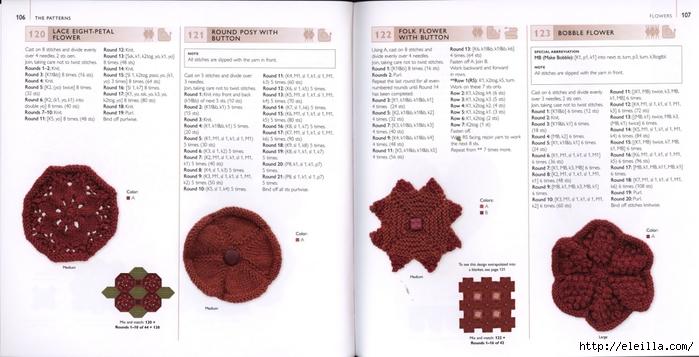 150 Knit & Crochet Motifs_H.Lodinsky_Pagina 106-107 (700x357, 176Kb)