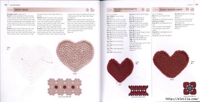 150 Knit & Crochet Motifs_H.Lodinsky_Pagina 110-111 (700x357, 166Kb)