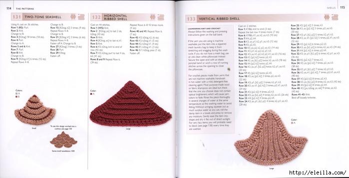150 Knit & Crochet Motifs_H.Lodinsky_Pagina 114-115 (700x357, 155Kb)