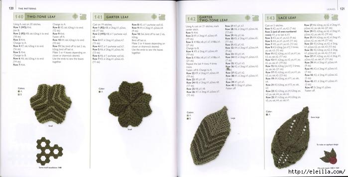150 Knit & Crochet Motifs_H.Lodinsky_Pagina 120-121 (700x357, 153Kb)