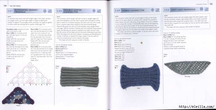 150 Knit & Crochet Motifs_H.Lodinsky_Pagina 124-125 (700x357, 160Kb)