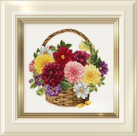 _129 Dahlia Basket (437x434, 167Kb)