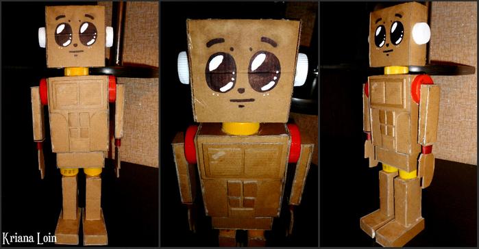 Робот Из Картона 37