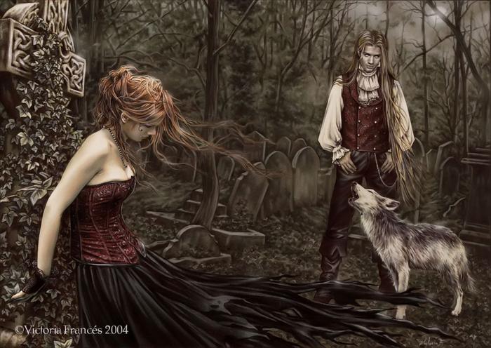 Рисунки художницы Victoria Frances