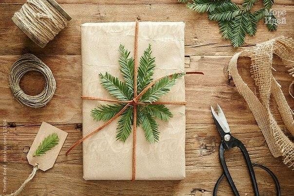 идеи для упаковки новогодних подарков1 (604x403, 228Kb)