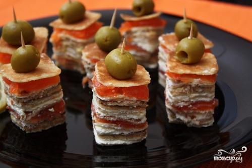 канапе баклажаны с мясом рецепты приготовления с фото