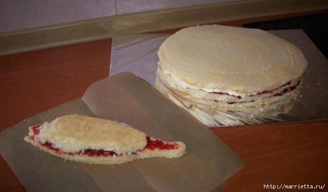 Подарок рыбаку - торт с ОКУНЕМ из мастики (2) (640x375, 90Kb)