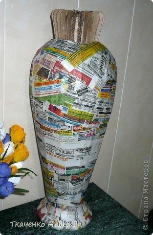 Как сделать вазу с помощью пва - Приоритет