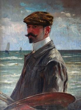 A_LOUYOT - Autoportrait (276x375, 105Kb)