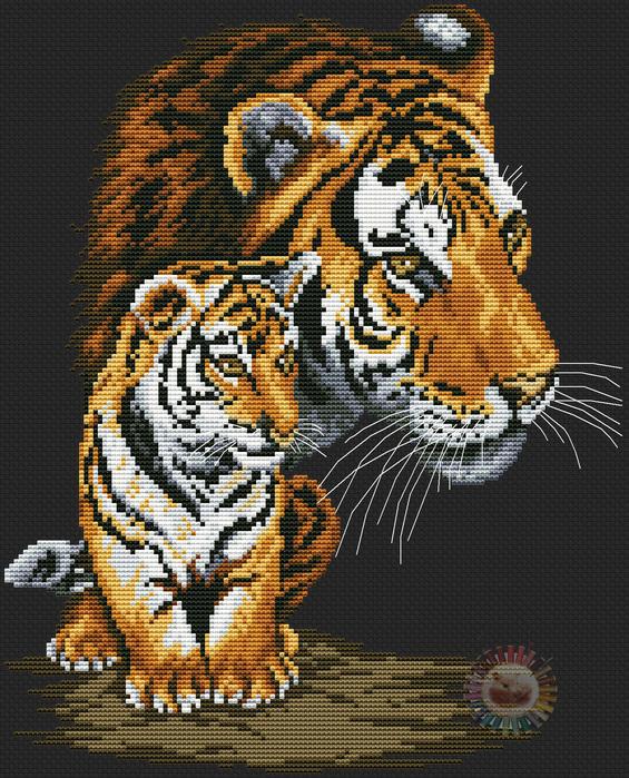 Wild Cats (565x700, 273Kb)