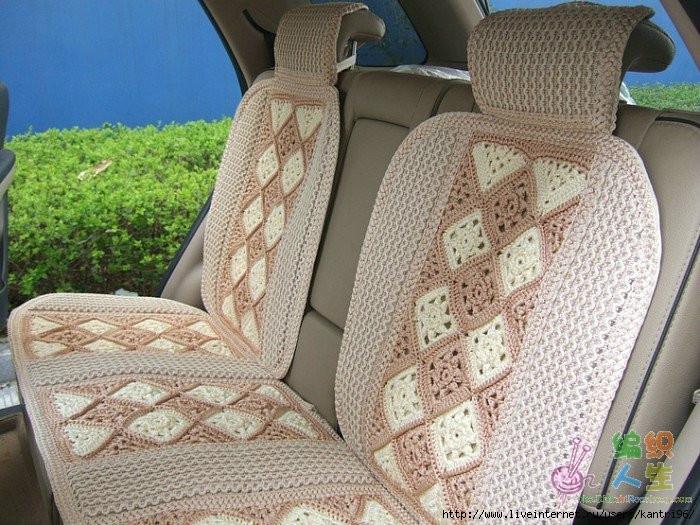 Чехлы на автомобильное сиденье своими руками