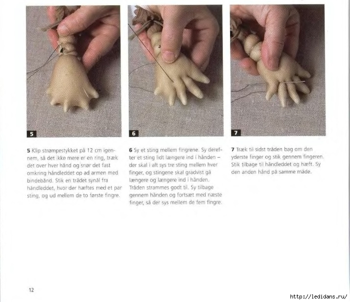 Текстильная кукла чулочная техника мастер класс