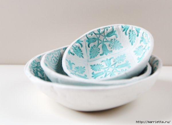 Декоративные вазочки из полимерной глины (3) (600x439, 66Kb)