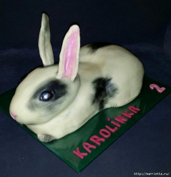 Кролик из мастики для сладкого 3D торта (9) (581x600, 98Kb)