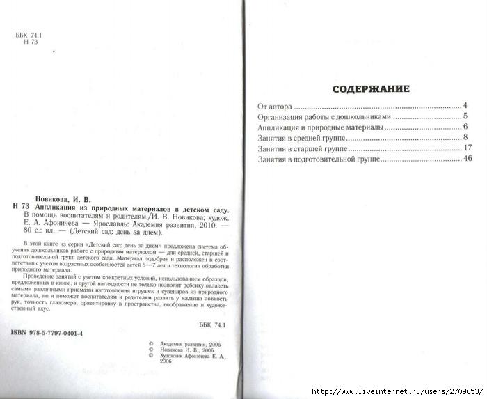 Апликация из природного материала в детском саду.page02 (700x573, 131Kb)