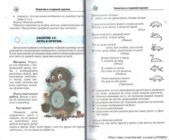 Апликация из природного материала в детском саду.page19 (700x579, 279Kb)