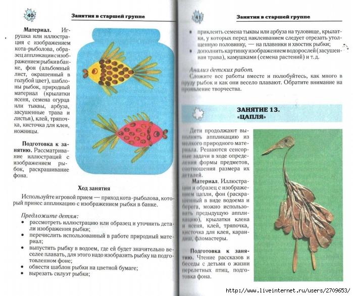 Апликация из природного материала в детском саду.page21 (700x586, 325Kb)