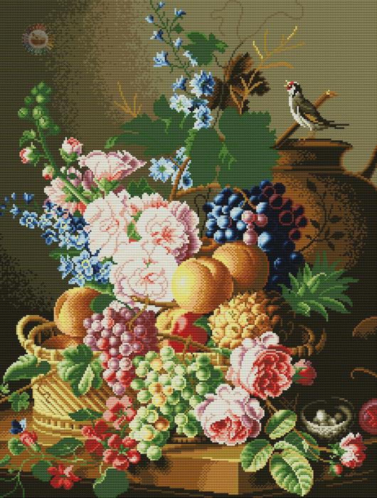 Bodegon de Flores (530x700, 304Kb)