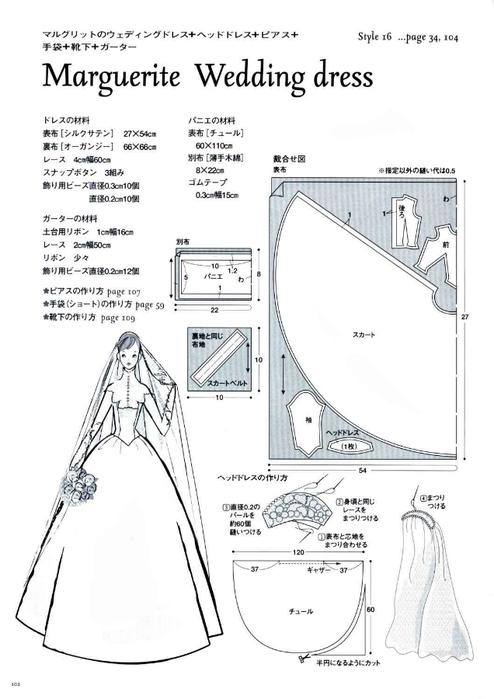 Сшить свадебное платье выкройки