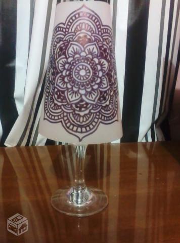 Candelabros para una noche romántica de vasos de vino (7) (356x480, 111KB)