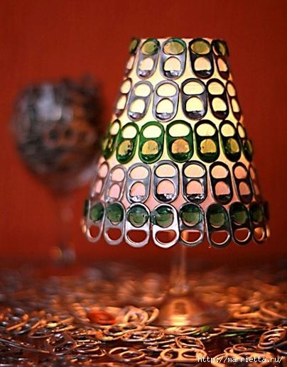 Candelabros para una noche romántica de vasos de vino (26) (404x517, 155 Kb)