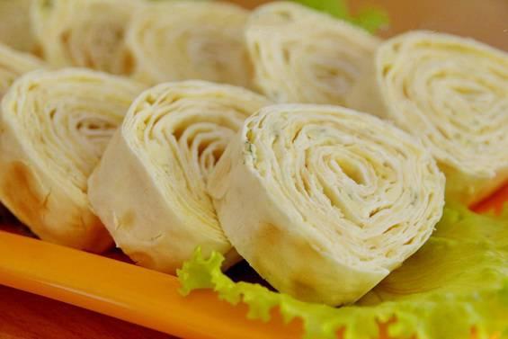 Рулеты из лаваша рецепты с плавленным сыром