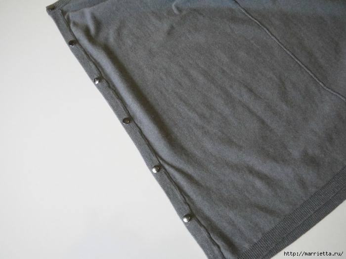 Модная туника из старого жакета. Идея переделки (4) (700x525, 195Kb)