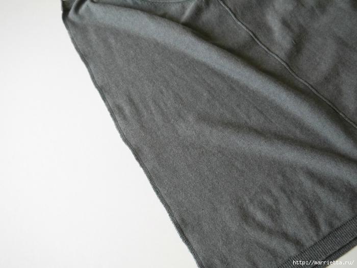 Модная туника из старого жакета. Идея переделки (6) (700x525, 205Kb)