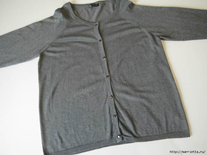 Модная туника из старого жакета. Идея переделки (10) (700x525, 212Kb)