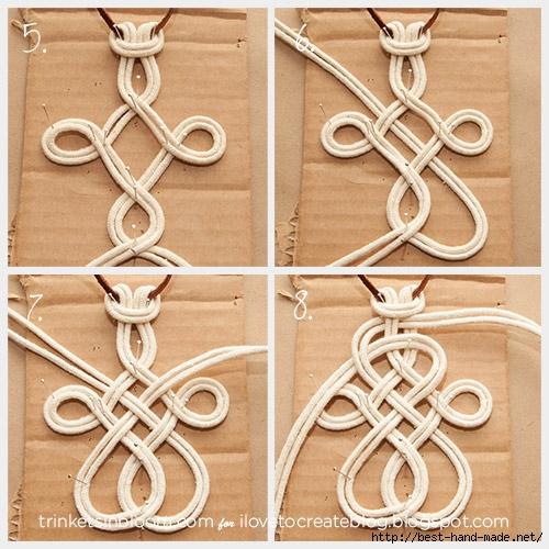 Поделки из верёвки узелки