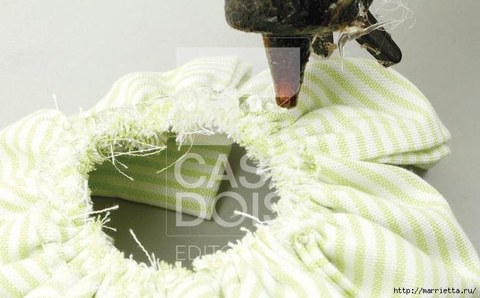 Брошка из ткани для платья своими руками