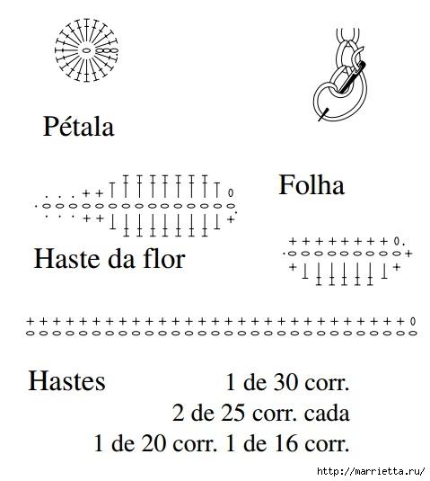 Круглая подушка крючком с аппликацией (6) (479x535, 90Kb)