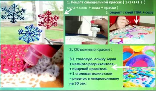Объемные краски своими руками рецепты 91
