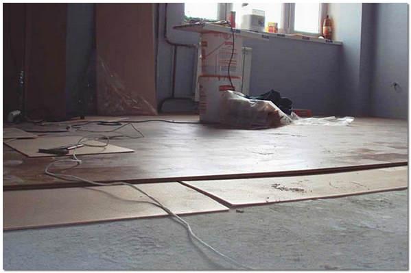 Укладка ламината на бетонный пол своими руками видео