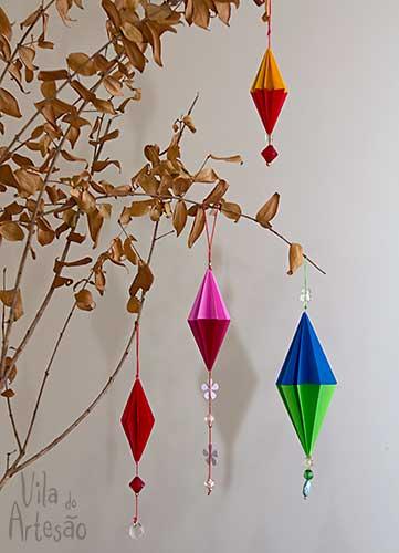 Украшения для елочки в технике оригами (18) (361x500, 124Kb)
