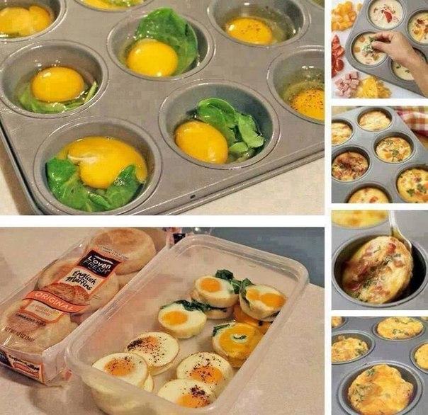 Полезные завтраки своими руками