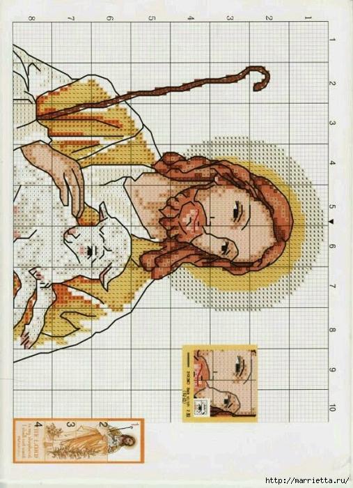 Схема вышивки крестом (2)