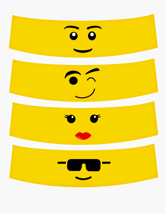 LegoFacePrintable (541x700, 137Kb)