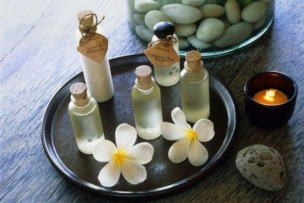 Базовые, эфирные масла и травы для добавления в шампунь. (604x403, 67Kb)