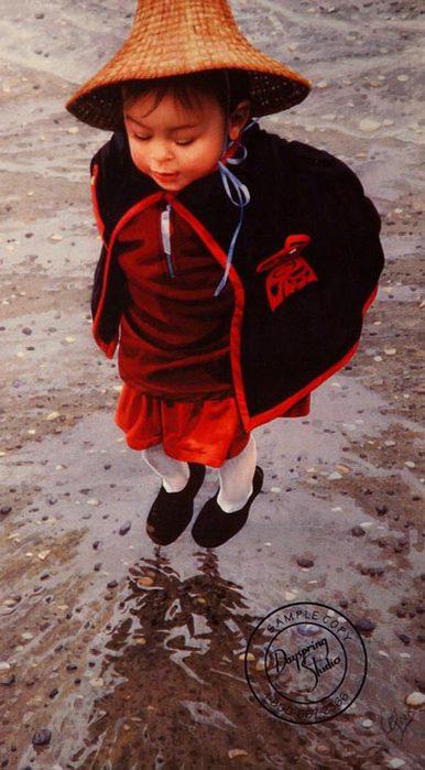 littlegirljumping-carol evans (386x700, 58Kb)