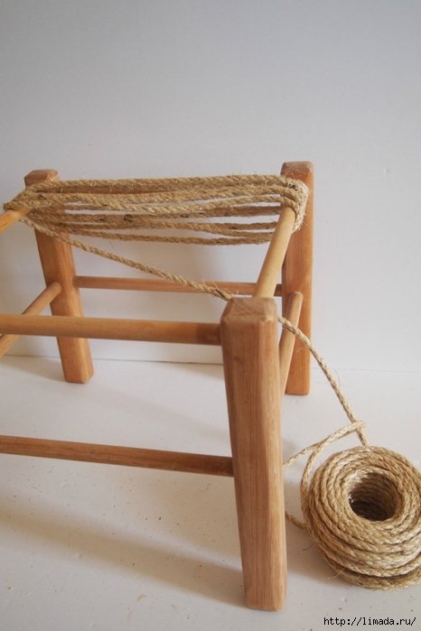 wrap-rope-around-top-of-stool (466x700, 176Kb)