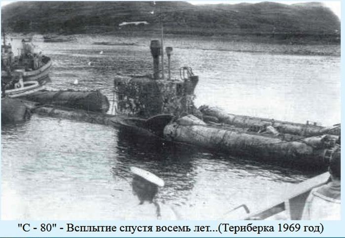 подводная лодка затонувшая на глубине 72 метра