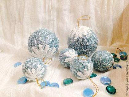 Набор шаров Морозные узоры (420x315, 104Kb)
