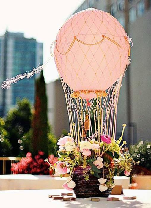 Корзина с воздушным шаром