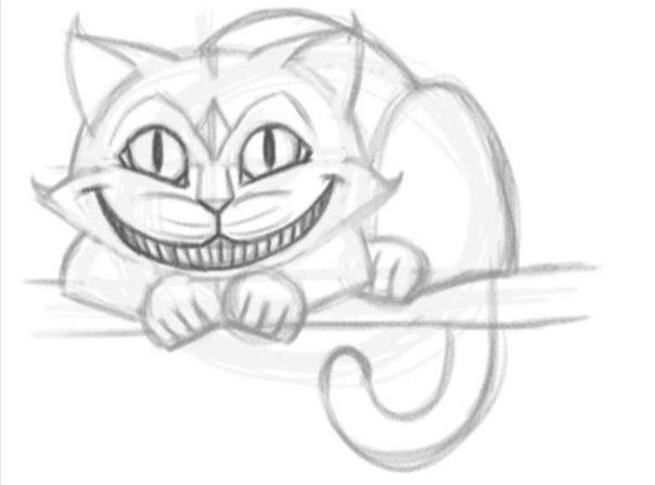 Картинки чеширский кот аниме