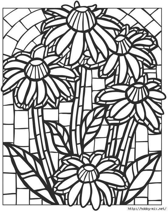 Трафареты для мозаики своими руками шаблоны 1106