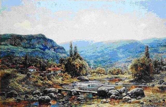 Соколиное на полотнах живописцев Коккоз Карло Боссоди(2) (640x412, 309Kb)