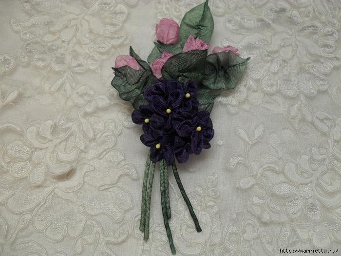 Цветы из ткани для украшения туфелек (37) (700x525, 307Kb)