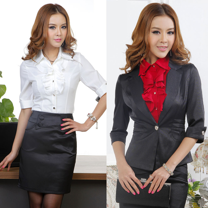 Free-shipping-women-work-wear-blazer-with-shirt-and-skirt-work-clothing- (700x700, 382Kb)