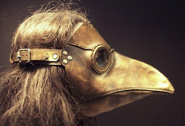Почему чумные врачи носили маску с длинным носом (604x411, 60Kb)